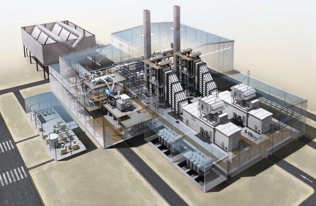 Neues Gas- und Dampfturbinenkraftwerk sichert zukunftsfähige Energieversorgung für Evonik
